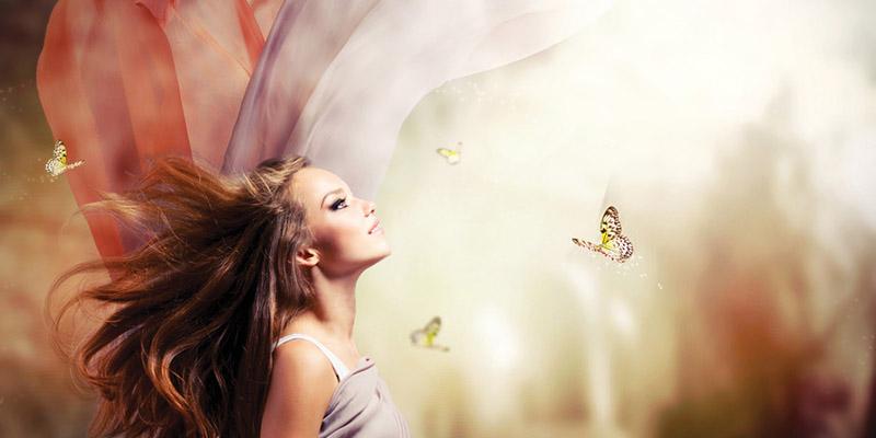 Beautiful Girl in Fantasy